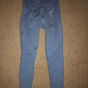 Gymshark Vital Seamless Blue Leggings